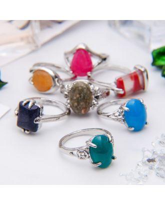 """Кольцо """"МИКС камней"""" овал, размер МИКС форма МИКС арт. СМЛ-24638-1-СМЛ0715656"""