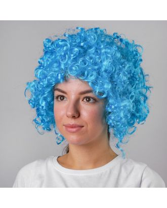 Карнавальный парик, объемный, салатовый арт. СМЛ-99195-9-СМЛ0000729895