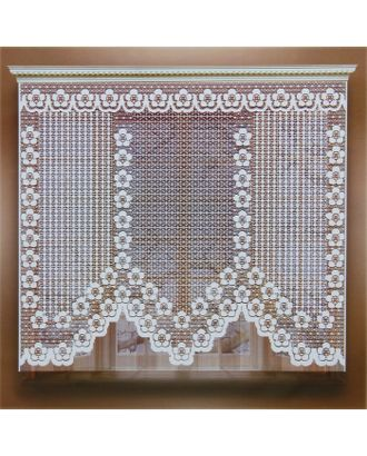 Штора 155х170 см, белый, 100% п/э, без шторной ленты арт. СМЛ-24708-1-СМЛ0740218