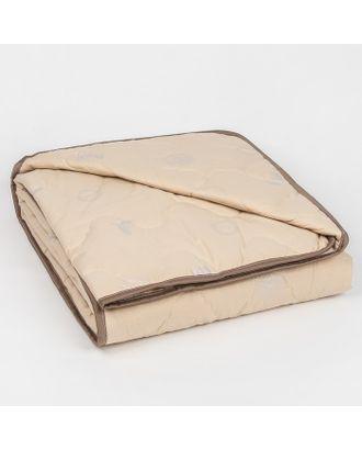 """Одеяло облегчённое Адамас """"Овечья шерсть"""", размер 140х205 ± 5 см, 200гр/м2, чехол тик арт. СМЛ-32949-1-СМЛ0799806"""