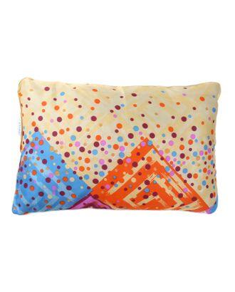Подушка Адамас синтетическая, размер 40х60 см, холлофайбер, чехол МИКС арт. СМЛ-24881-1-СМЛ0799808