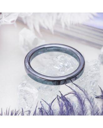 """Кольцо """"Гематит"""" 2мм, размер МИКС арт. СМЛ-22265-1-СМЛ0806944"""