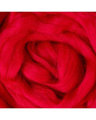 Шерсть для валяния полутонкая, красный арт. СМЛ-20366-4-СМЛ0855085