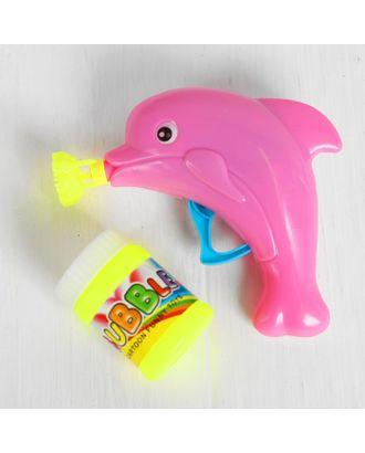 Мыльные пузыри «Дельфин на волне» с насадкой, 60 мл, цвета МИКС арт. СМЛ-125154-1-СМЛ0000860350
