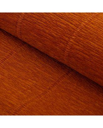 """Бумага гофрированная, 17E/1 """"Светло-каштановая (каурый)"""", 0,5 х 2,5 м арт. СМЛ-33728-9-СМЛ0907022"""