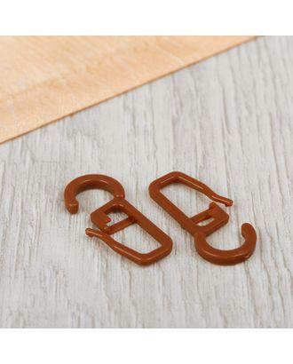 Крючок для штор, на кольцо, 3 × 1,3 см арт. СМЛ-37-2-СМЛ0961742