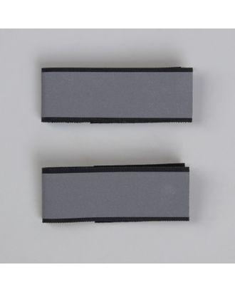 Съёмные световые ремешки на липучке, 2 шт, цвет чёрный арт. СМЛ-25394-1-СМЛ0980025