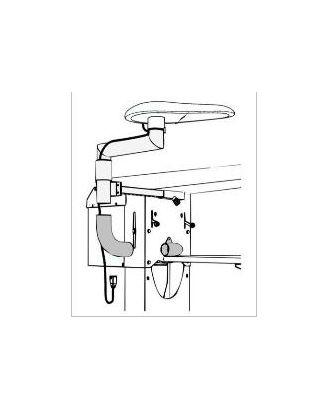 Поворотный рычаг Comel AKN-04E для столов серии BR/A SXD арт. ТМ-482-1-ТМ0652984