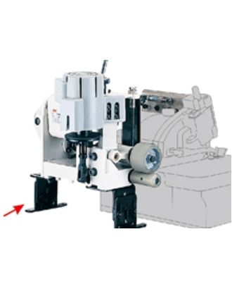 PK Пуллер для оверлока с верхним и нижним приводными роликами. (установка на столе) арт. ТМ-1232-1-ТМ0693103