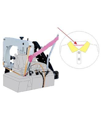 PO-F Пуллер для оверлока с транспортирующим ремнем для втачивания воротника поло арт. ТМ-1238-1-ТМ0693109