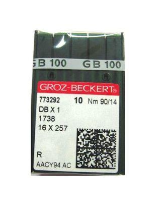 Иглы Groz-Beckert DBx1 №110/18 арт. ТМ-3837-1-ТМ0734909