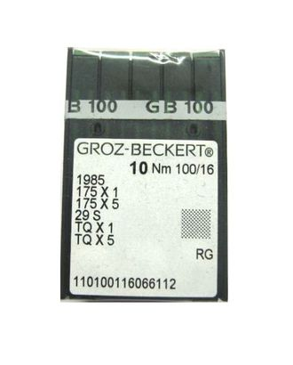 Игла Groz-beckert TQx1 № 80/12 арт. ТМ-2595-1-ТМ0735474