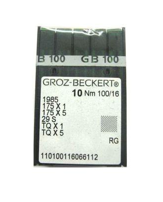 Игла Groz-beckert TQx1 №100/16 арт. ТМ-2597-1-ТМ0735476